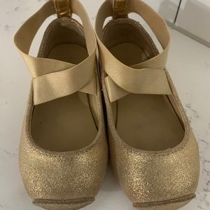 Janie and Jack ballet flats size 8